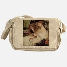 Lady Lilith by Dante Rossetti Messenger Bag