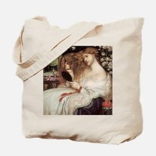 Lady Lilith by Dante Rossetti Tote Bag