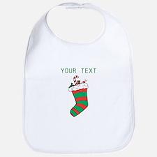 Christmas - HERE YOUR TEXT Bib