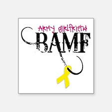 "ArmyGFBAMF Square Sticker 3"" x 3"""