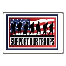 Support Our Troops Banner