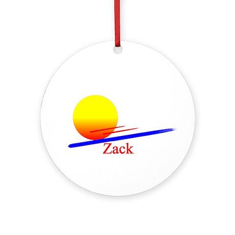 Zack Ornament (Round)