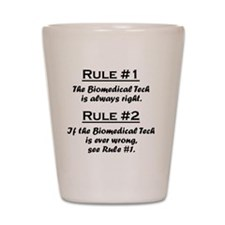 Rule Biomedical Tech Shot Glass