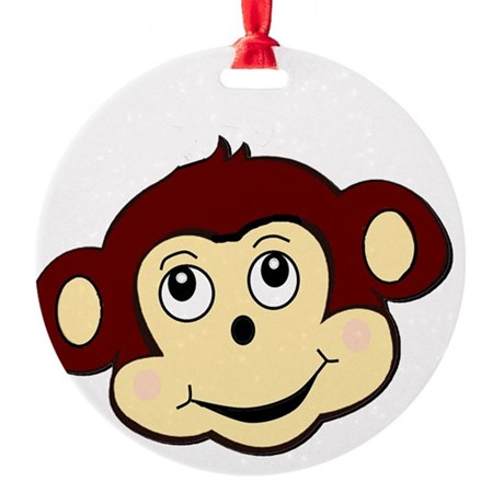monkeymain Round Ornament