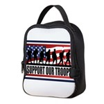 Support Our Troops Neoprene Lunch Bag