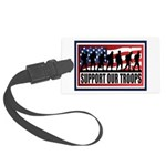 Support Our Troops Luggage Tag