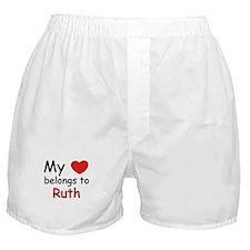 My heart belongs to ruth Boxer Shorts