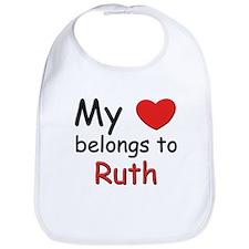 My heart belongs to ruth Bib