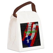 Puerto Rico, My Pride Canvas Lunch Bag