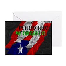 Puerto Rico, My Pride Greeting Card