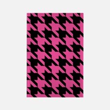 houndstooth-xl-pink_ipad Rectangle Magnet