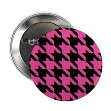 "houndstooth-xl-pink_ipad 2.25"" Button"