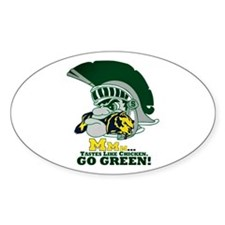 sparty is hungry Decal