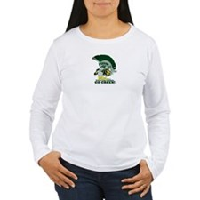 sparty is hungry Long Sleeve T-Shirt