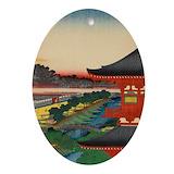 Japan christmas Oval Ornaments