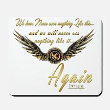 Katniss Mockingjay Wings Mousepad