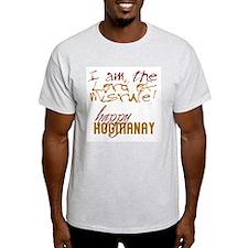 Lord of Misrule/Hogmanay Ash Grey T-Shirt