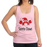 Funny christmas Womens Racerback Tanktop