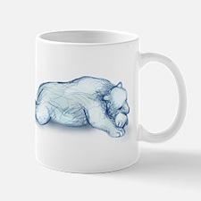Polar Bear Napping Mugs
