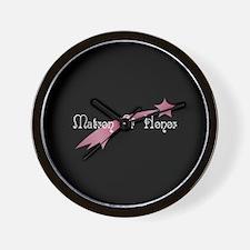 Matron Of Honor - S Star Wall Clock