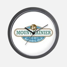 Mount Rainier National Park Wall Clock