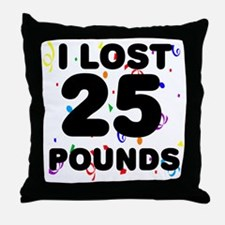 25Party Throw Pillow