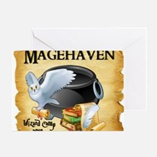 Magehaven 02 Greeting Card