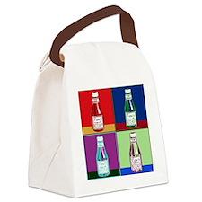 KetchupPopArtFinish Canvas Lunch Bag