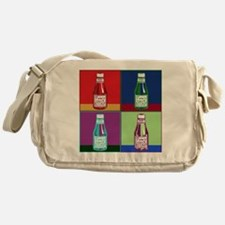 KetchupPopArtFinish Messenger Bag