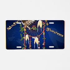 Magical Christmas Dreams-Ya Aluminum License Plate