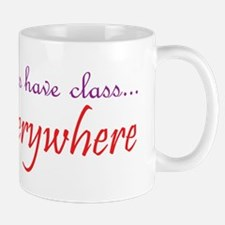 have class1 purple and red Mug