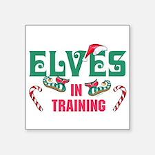 ELVES IN TRAINING Sticker