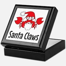 Santa Claws Keepsake Box