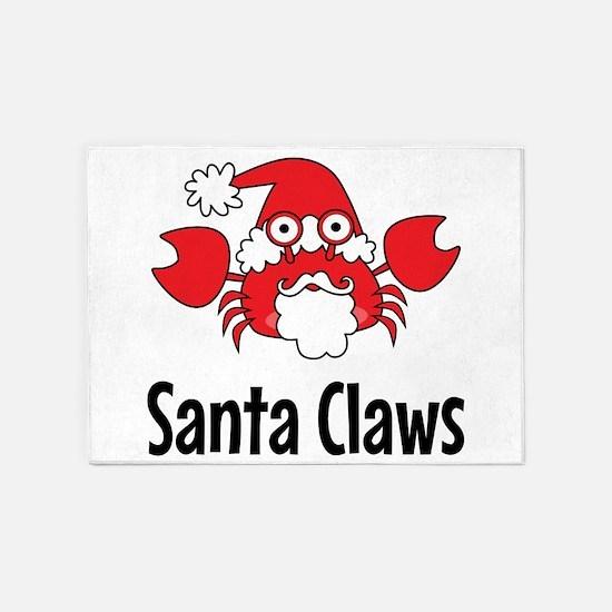 Santa Claws 5'x7'Area Rug