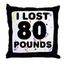 80Party Throw Pillow