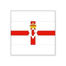 Northern Ireland Flag Rectangle Sticker