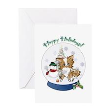 Christmas Chi #6 Greeting Card