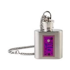 Edward Loves Me 444_iphone_case Flask Necklace