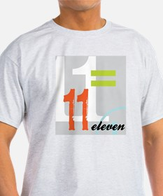 Anniversary Card: 11 Years T-Shirt