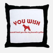 Brussells Griffon Throw Pillow