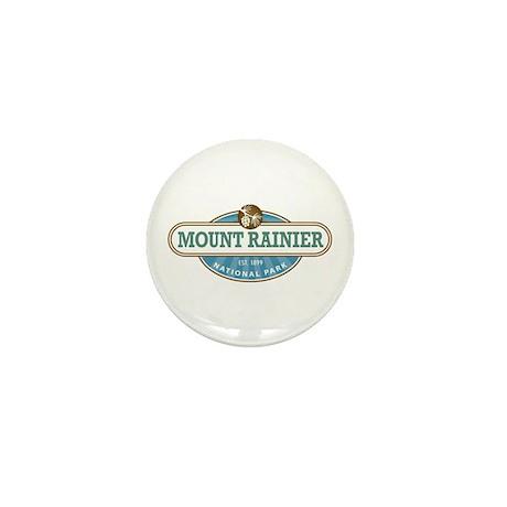 Mount Rainier National Park Mini Button