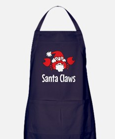 Santa Claws Apron (dark)