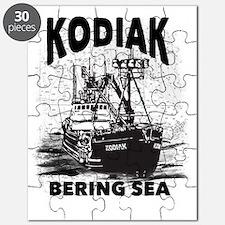 kodiak_bering_bw Puzzle