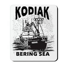 kodiak_bering_bw Mousepad