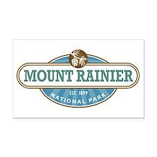 Mount Rainier National Park Rectangle Car Magnet