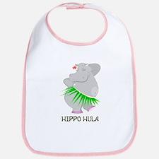 Hippo Hula Bib