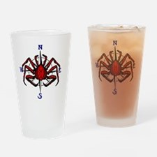 crab-comp LOW REZ Drinking Glass