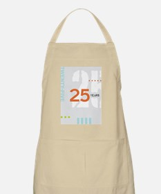 Anniversary Card: 25 Years Apron