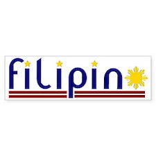 filipinO_col2 Bumper Sticker