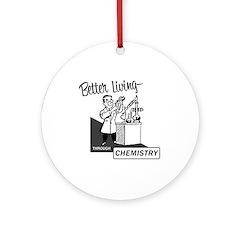 Chemistry Ornament (Round)